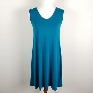 Eileen Fisher Tunic Dress Tank Sleeveless Viscose